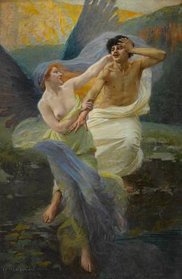 Angel Of Mercy Art Print