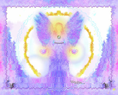 Digital Art - Angel Of New Direction #180 by Barbara Tristan