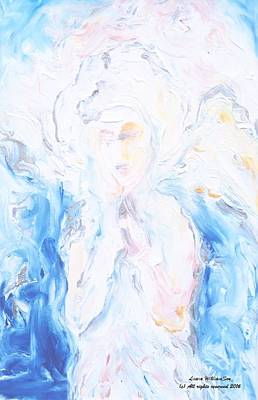 Angel Of Peace Art Print