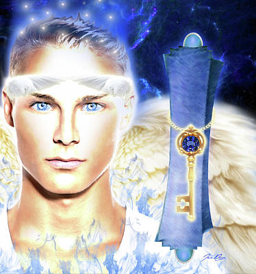Digital Art - Angel Of Revelation by Jennifer Page