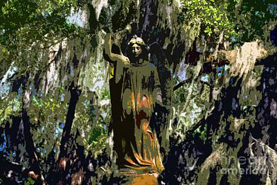 Angel Of Savannah Art Print by David Lee Thompson