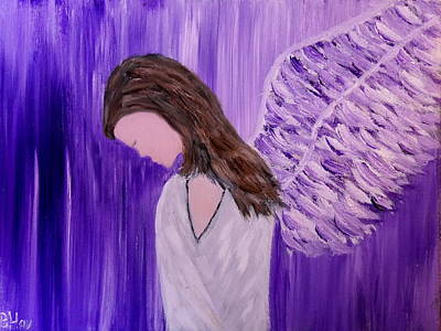 Painting - Angel Of Silence by Bernd Hau