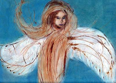 Angel Of The Day Star Art Print