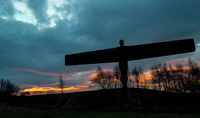 Photograph - Angel Of The North A by Jacek Wojnarowski