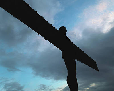 Photograph - Angel Of The North D by Jacek Wojnarowski