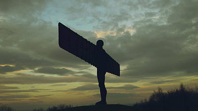 Photograph - Angel Of The North E by Jacek Wojnarowski