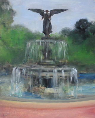 Painting - Angel Of The Waters by Robert Holden