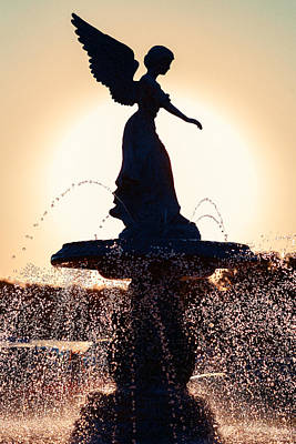 The Beauty Of Photograph - Angel Of The Waters by Todd Klassy