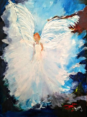 Painting - Angel Of Youth by Gary Smith