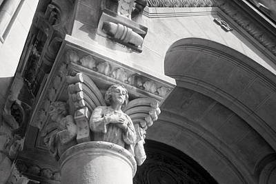 Photograph - Angel On Column by Douglas Pike