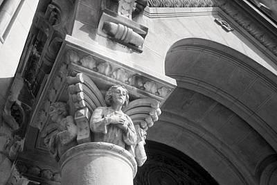 Photograph - Angel On Column by Douglas Pike