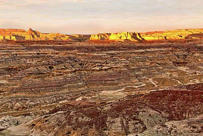 Art Print featuring the photograph Angel Peak Badlands - New Mexico - Landscape by Jason Politte
