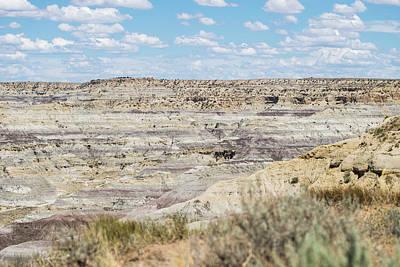 Photograph - Angel Peak Badlands by Tom Cochran