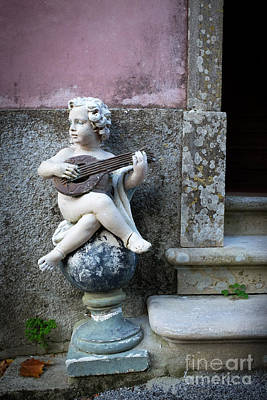 Guitar Angels Photograph - Angel Playing by Carlos Caetano