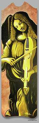 Painting - Angel - Pop Classic Series by James R Hahn