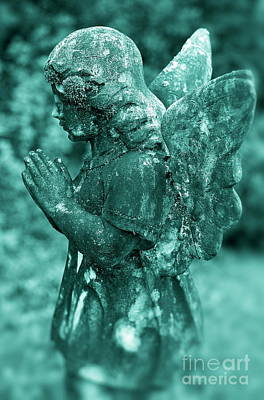 Angel Prayer Art Print by John Greim