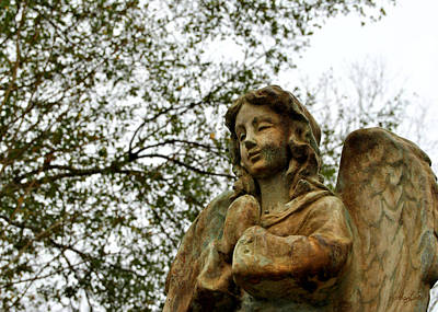 Photograph - Angel Praying by Nathan Little