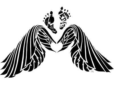 Angel Prints Art Print