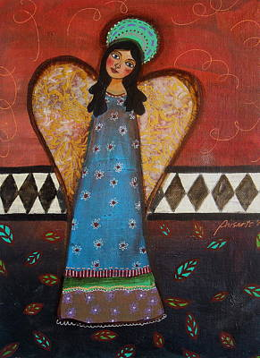 Painting - Angel by Pristine Cartera Turkus