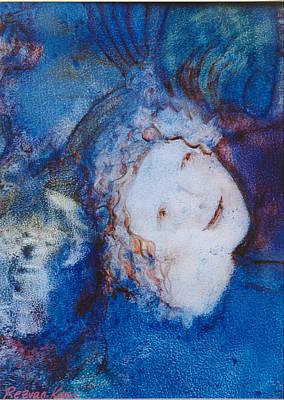 Painting - Angel by Rezvan Kani