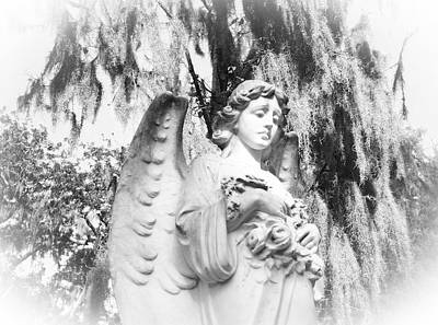 Angel Art Print by Sabrina  Long