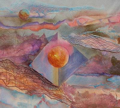 Painting - Angel Sphere by Tara Moorman