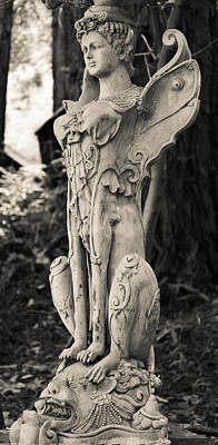 Photograph - Angel Statue by Robert Brusca