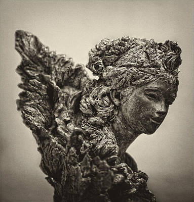Angel Statue Art Print by Robert Ullmann