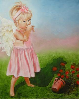 Painting - Angel Thumbs by Joni McPherson
