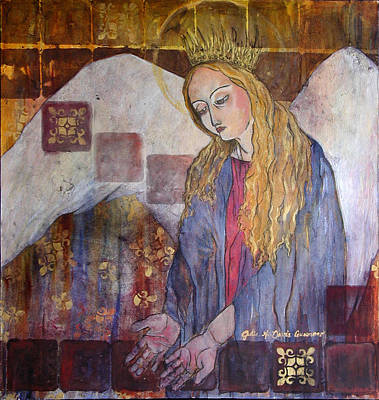 Painting - Angel Untitled by Julie Davis