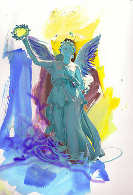 Angel, Victory Is Now Art Print