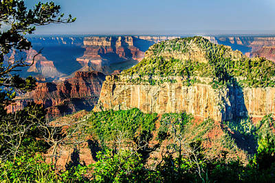 Photograph - Angel Viewpoint North Rim Grand Canyon by Bob and Nadine Johnston