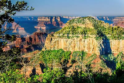 Photograph - Angel Viewpoint North Rim Grand Canyon by Bob and Nadine Johnston
