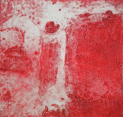 Printmaking Mixed Media - Angel Vision II by Simran Sofia Love