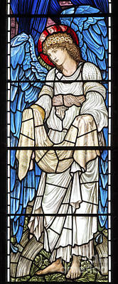 Saint Hope Photograph - Angel Window by Tim Gainey
