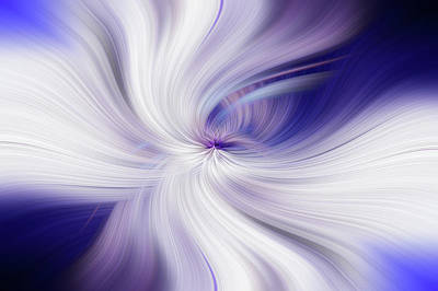 Photograph - Angel Wings Abstract. Power Of Light by Jenny Rainbow