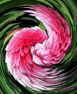 Digital Art - Angel Wings by Carol Grimes