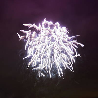 Photograph - Angel Wings. Fireworks Finland 100 Years by Jouko Lehto