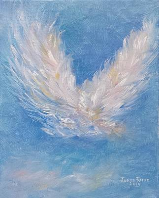 Painting - Angel Wings by Judith Rhue