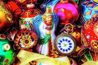 Photograph - Angel With Pocket Watch by Garry Gay