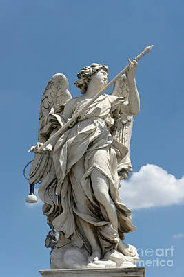 Photograph - Angel With The Lance by Fabrizio Ruggeri
