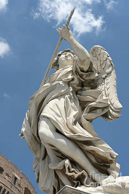 Photograph - Angel With The Lance II by Fabrizio Ruggeri