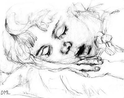 Angela Art Print by Diana Ludwig