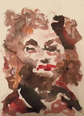 Painting - Angela IIi by Khalid Alzayani