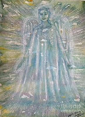 Painting - Angelic Being 1 by Leanne Seymour