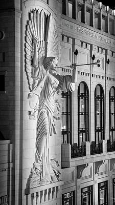Photograph - Angelic Blast - Bass Hall by Stephen Stookey