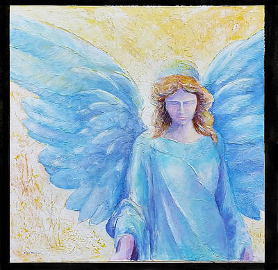 Painting - Angelic Intercession by David Maynard