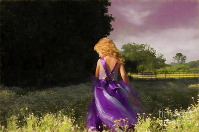 Children Digital Art - Angelic Moment by Jacque The Muse Photography
