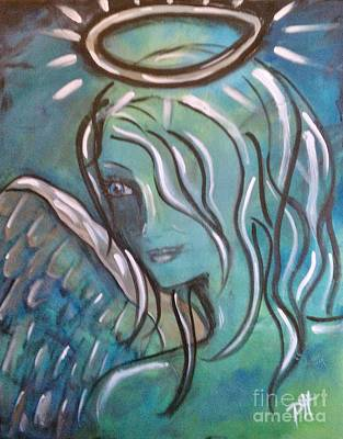 Painting - Angelic by Patti Spires Hamilton