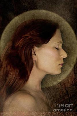 Angelic Portrait Art Print